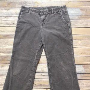 Gorgeous Gray Eddie Bauer Corduroys- size 10